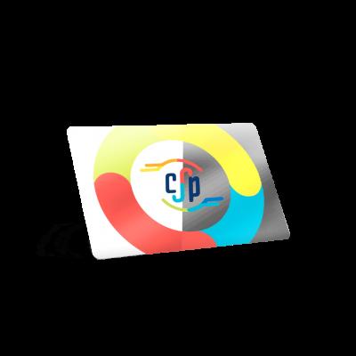 stampa card trasparenti