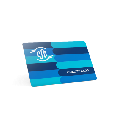 stampa fidelity card