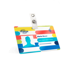 stampa card professionali