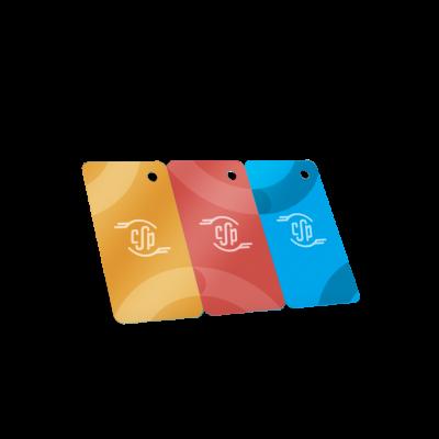 stampa tri card